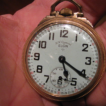 Elgin B.W. Raymond - Pocket Watches