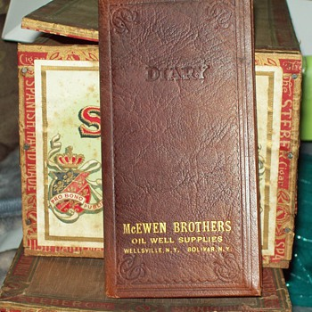 1930 Scheduler, McEwen Brothers Oil Well Supplies