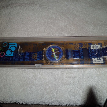 1994 olympic coomemorative swatch chronograph