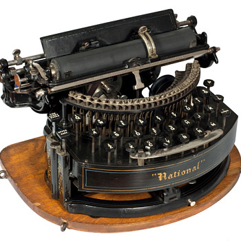 National typewriter - 1889 - Office