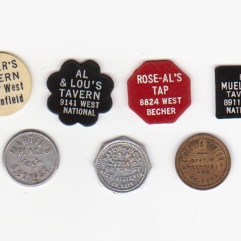 Bar Tokens - US Coins