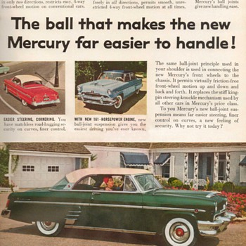 1954 - Mercury Sedan Advertisement - Advertising