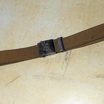 BoyScout Belt Patent 1931 - Sporting Goods