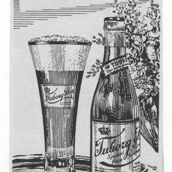 1953 Tuborg Beer Advertisement - Advertising
