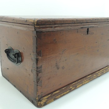 American Pine Document/File Box in Pine