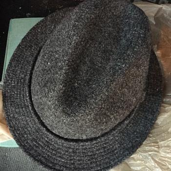 Stetson hand woven hat.