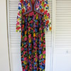 Goldworm Vintage 60&#039;s 70&#039;s Maxi Dress