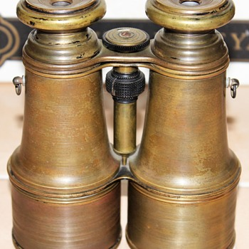 French Brass Civil War Brevete Field Binoculars - Military and Wartime