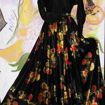 Gorgeous Full Victor Costa Skirt A Personal Fave!