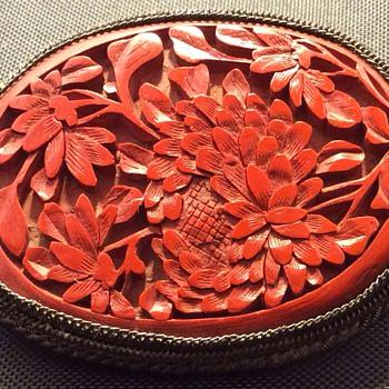Handmade victorian brooch