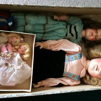 Dolls found and rescued  - Dolls