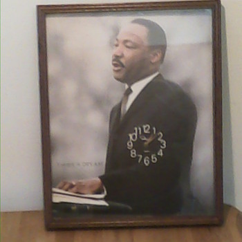 Dr. King Wall clock