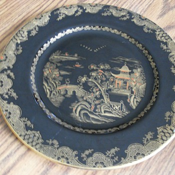 Crown Staffordshire Plate Help With Dating - China and Dinnerware