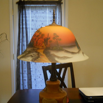 Generations in family unsure of artist! - Lamps