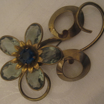 Vintage/Antique Brooches 1940s or 1950s