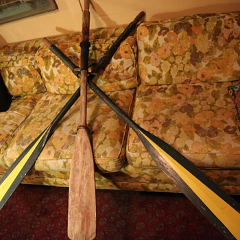 Oars and Oarlocks - Sporting Goods