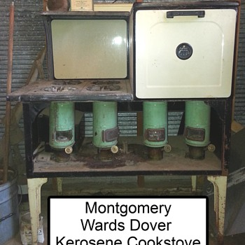 My favorite Kerosene Cookstove