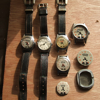 Here's a few more hop-A-Long Cassidy Watches - Wristwatches