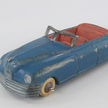 1948 Packard Convertible - Model Cars
