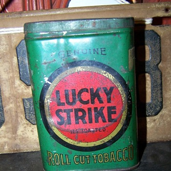 Lucky Strike Tobacco Tin