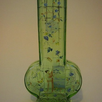 A little past its prime, but still pretty fine –Harrach Japanois - Art Glass