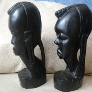 African head carvings