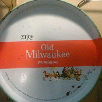 Old Milwaukee Beer Tray - Advertising