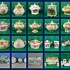 This is a colection of Cracker and Bisquet jars