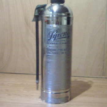 Pyrene fire extinguisher - Firefighting