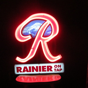 Rainier Beer Neon - Signs