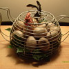 Tea Pot Wire Egg Basket