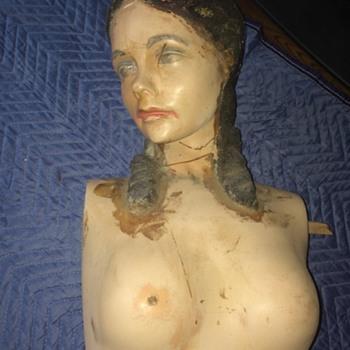 1920's ? Plaster mannequin part 2