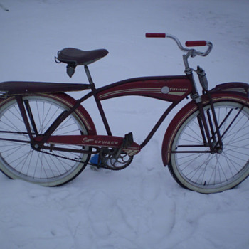 Firestone Bicycle 1952