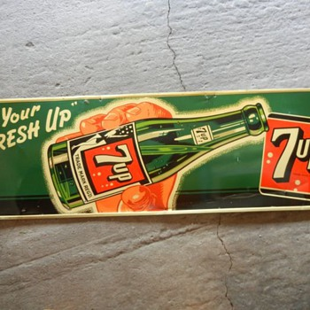 Canadian 7 Up Sign