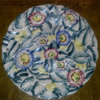Japanese Wall Plate - Art Pottery