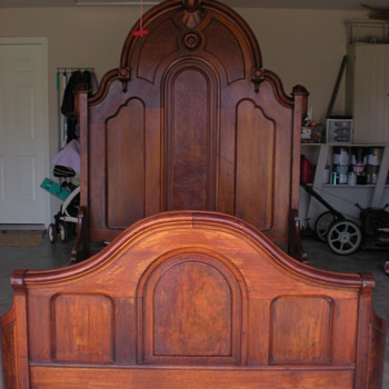 My Grandmother's Antique Bed