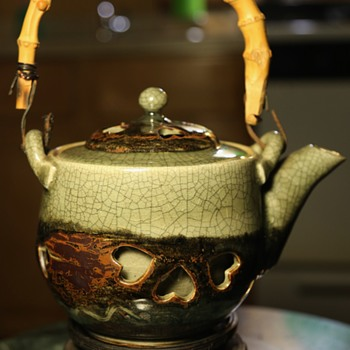 "Double-walled Teapot ""Made in Japan"" - Asian"