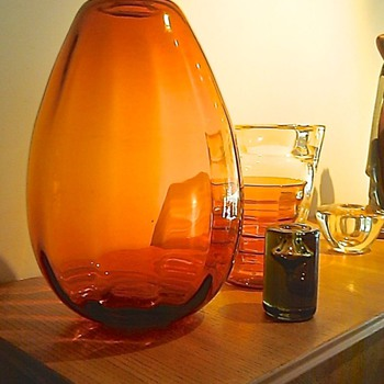 KALEBAS - CHRIS LEBEAU - LEERDAM - Art Glass