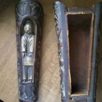 mysterious looking coffin?? have no clue where or what this is, can anyone help please?? thank you - Asian