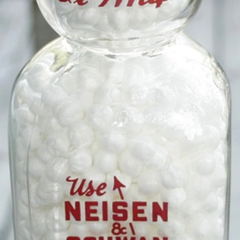 Vintage Neisen &amp; Schwan Creamtop Milk Bottle