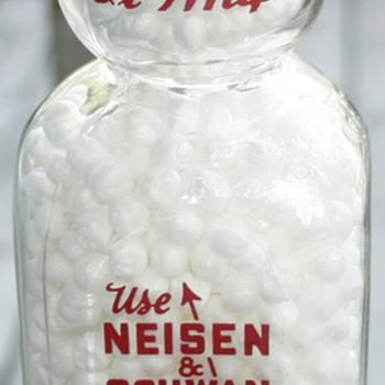 Vintage Neisen & Schwan Creamtop Milk Bottle