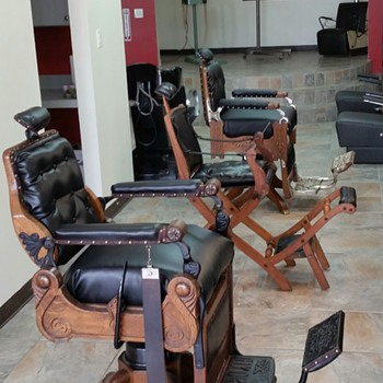 Koken Congress added to collection of amazing vintage chairs at Grand Cuts in Spring, Texas
