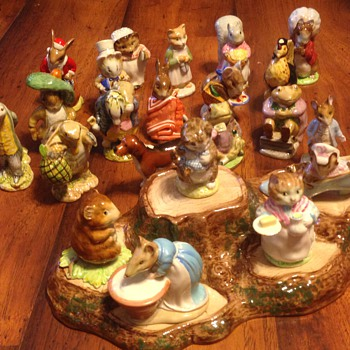 Beatrix Potter's figurines - Figurines