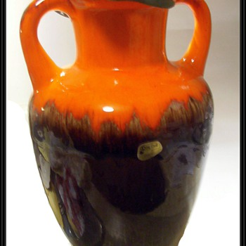 ROY CRAFT POTTERY vase-- Canadian