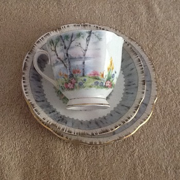 Royal Albert silver birch England