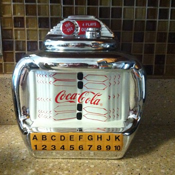 Coca Cola cookie jar - Coca-Cola