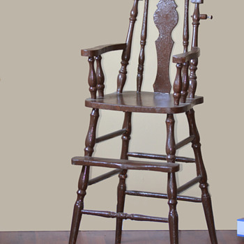 1930s High Chair - Furniture