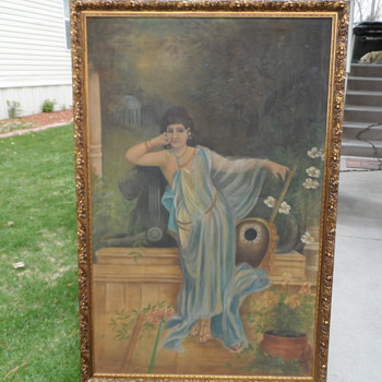 Woman or  Eunuch? artist? - Visual Art