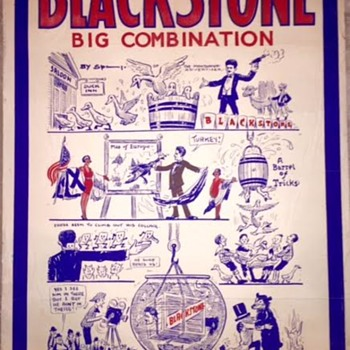 Blackstone Magician - Blackstone Big Combination (One Sheet) - Advertising