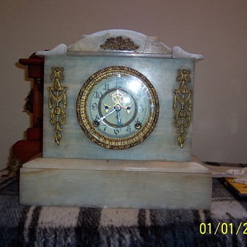 ansonia movement,      case ???? - Clocks
